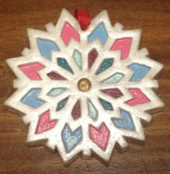 Snowflake Stained Glass by NyghtshaydeEN