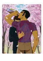 Genki and Eiji Blossom Season by HowToDeal01