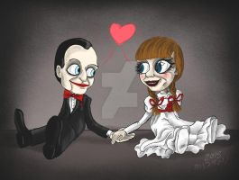 Billy and Annabelle by Madame-Kikue