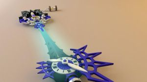 No Name Keyblade by tom55200