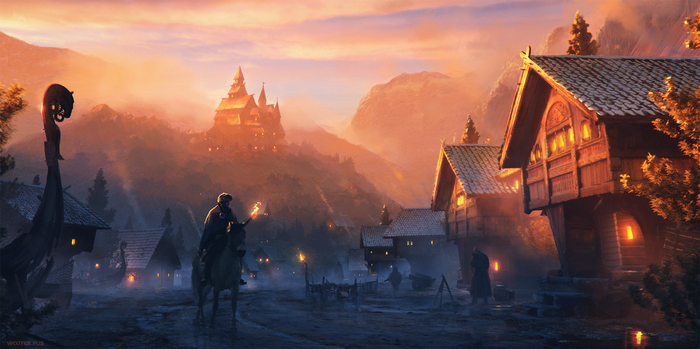 Streets of Sandvik by WojtekFus