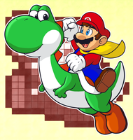 Happy Mario Day 3 -GN3- by CatchShiro