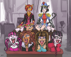 Frightfully Ticklish Party! by Rgevskiy