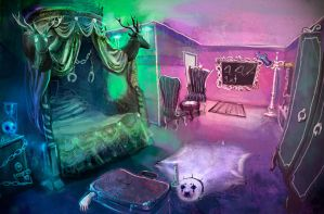 Ringmaster's room by cryoclaire