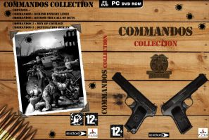 Commando collection covert art by SkipCool33