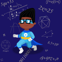 Kid Math from WordGirl by KerryKoopa26
