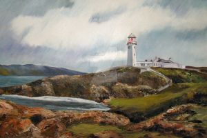 Fanad Head Lighthouse, Ireland by Schnellart