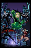 Justice League Beyond 18 by E-Mann