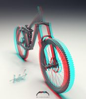 Stereo 3D Bike In Progress... by KaaIYJo
