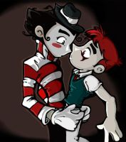 Le Mime X Good Jack by Jack-Spicer666