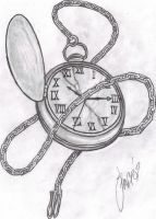 Pocket Watch by grimdiskord