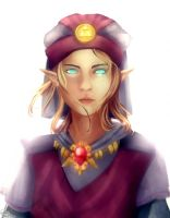 Young Princess Zelda by Scarlet-Asura-Fox