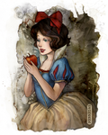 Snow White - Colored by eromenos