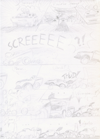 Cars sketch comic page 1 by Weirda208