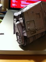 PaperCraft AT-AT WIP  Rear End by Ohnhai