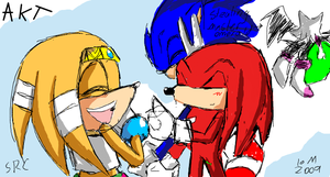 Knuckles The dumb Echinda by Annabud