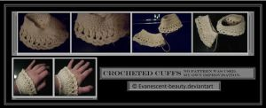 Crocheted cuffs by Evanescent-beauty