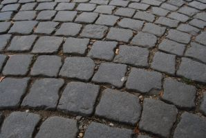 Cobbled street in Prague by Dorian-Gray7