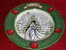 Fairy Tale Plates- Snow White (Front) by Gummibearboy
