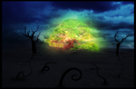 The beautiful tree in the middle by vLine-Designs