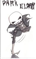 40K Death Jester....Chibi-ed by N-Chiodo