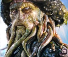 Davy Jones by arcitenens