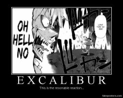Excalibur poster by djlee6