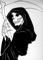 Dont Feeear the Reaper Inked by aureath