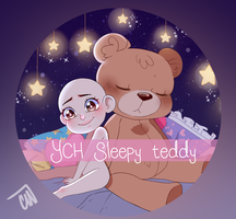 YCH Sleepy Teddy by Celiicmon