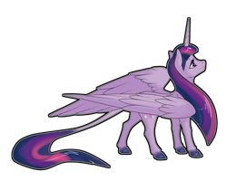 Alicorn Twilight by Sugarcup91
