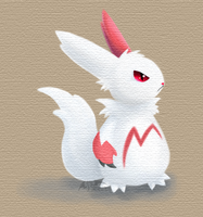 Request: Cute Zangoose by TheSplashingMAGIKARP