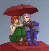 Advance Wars: SxE: Rain by Mirinee