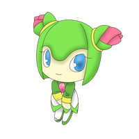 Chibis of the Sonic Universe - Cosmo the seedrian by xShadilverx