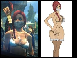 Dragons dogma character by MagsDigital