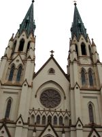 St Johns Cathedral Spires by phoenix-snapt