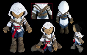 AC Connor Kenway Plushie by xSystem