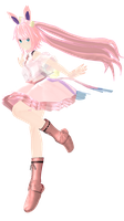 MMD Sylveon Ver + dl link by Lazuliwitch