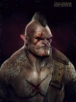 Troll warrior by CGPTTeam