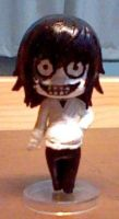 Cutsom Jeff The Killer Nendoroid by FelixFox1991