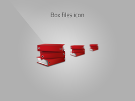 Box files icon by nieswiety1337