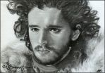 Jon Snow by Katerina-Art
