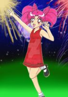 Prize:Chibiusa Likes Fireworks by Magical-Mama