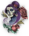 Sugar Skull Girl by francosj12