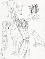 Wolf's Rain--Part I--Toboe by unicorn-catcher