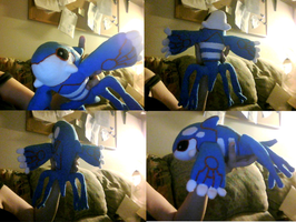 Kyogre by Aemi