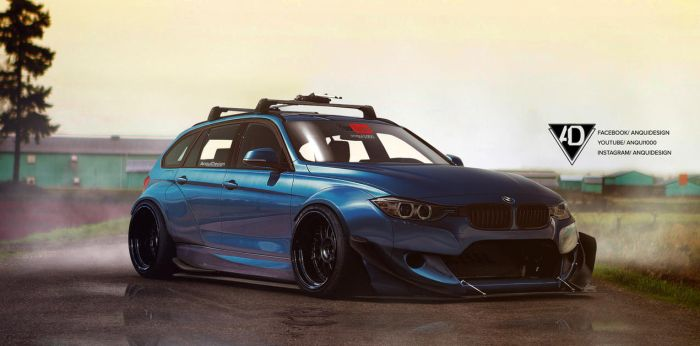 BMW F80 Rocket Bunny by aNqUi