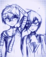 OC Time! Knoxx, and Natsume by Trancesodama