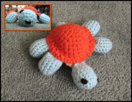 Amigurumi Turtle by WireMySoul