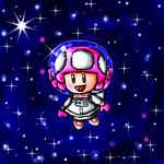 Space toadette by babyblisblink