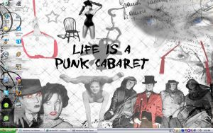 Life is a Punk Cabaret by katitijani